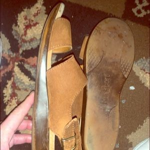 Sandals sz8.. too small for me